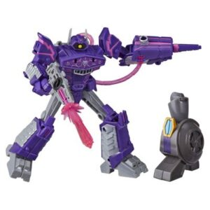 Figura Transformável - Transformers - Cyberverse Adventures - Build Figure - Shockwave - Hasbro