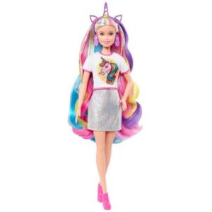 Boneca Barbie - Princess Adventure - Penteados de Fantasia - Mattel