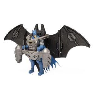 Mini Figura Articulada - 12 Cm - DC Comics - Batman Com Armadura - Sunny