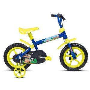 Bicicleta ARO 12 - Jack - Azul e Verde - Verden Bikes