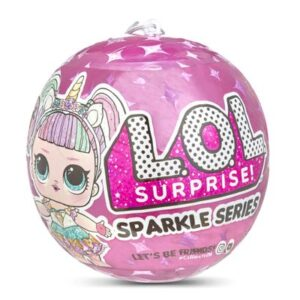 Mini Boneca Surpresa - LOL Surprise! - Sparkle Series - 7 Surpresas - Candide