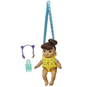 Boneca Baby Alive - Littles - Morena - E6646 - Hasbro