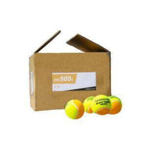CAIXA DE BOLA DE BEACH TENNIS (C/ 72 UNIDADES) BTB 900 - Btb 900 s orange x72, no size