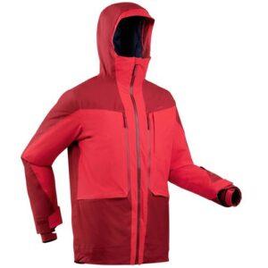 Jaqueta masculina impermeável de ski FR500