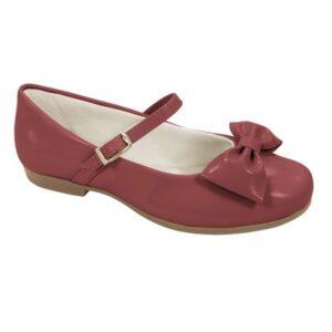 Sapato para Bebês - Angel - Verniz - Vermelho - Pampili - 24