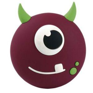 Caixa de Som Portátil - Bluetooh - 5W RMS - Monster Boo - Roxo - OEX Kids