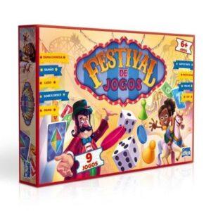 Conjunto com 9 Jogos - Festival de Jogos - Circo - Toyster