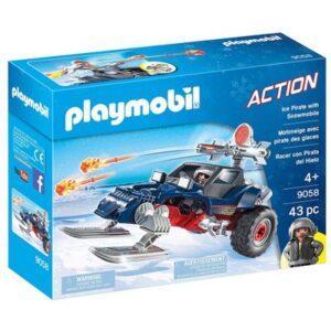 Playmobil - Expedição Ártica - Piratas do Gelo com Moto - 9058 - Sunny