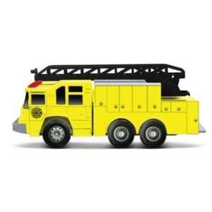 Mini Veículo - Fresh Metal - Team Rescue - Caminhão com Escada - Maisto