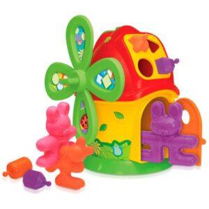 Casa Moinho - Smoby Baby - Vermelho e Laranja - Gulliver
