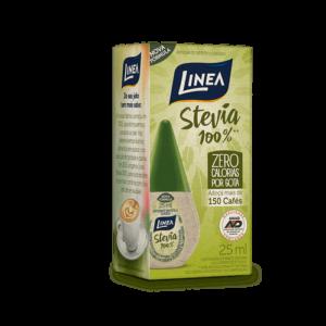 Linea Adoçante Líquido Stevia 100% 25Ml