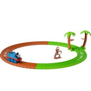 Pista e Veículo - Thomas e Seus Amigos - Thomas na África - Mattel