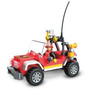 Blocos de Encaixe - Mega Construx - Wonder Builders - Unidade de Rasgate - Bombeiros - Mattel
