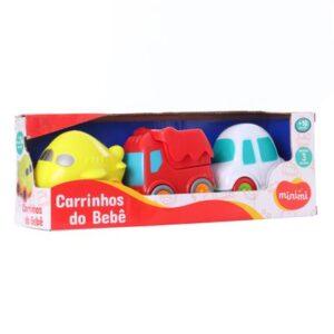 Conjunto de Mini Veículos - Carrinhos do Bebês - Modelos Sortidos - Minimi