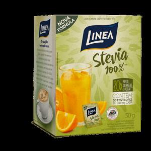 Linea Adoçante Em Pó Stevia 50 Saches