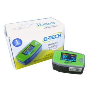 Oximetro de Pulso G-Tech OLED Pediatrico Verde