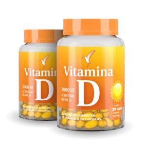 Vitamina D: Cápsulas - 60 dias - 60 cápsulas