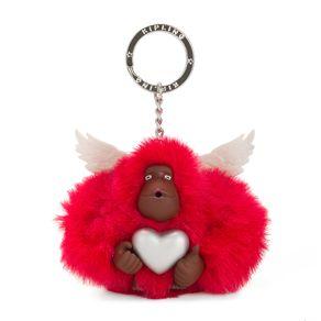 Chaveiro Macaco Kipling Cupido - Vermelho
