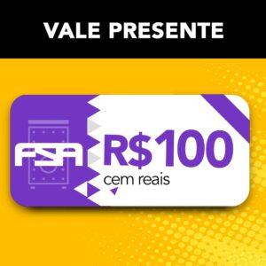 Vale Presente FSA R$ 100 - Presenteie com cupom da Loja Oficial FSA