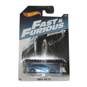 Veículo Hot Wheels - 1:64 - Fast & Furious - Premium - Subaru WRX STI - Mattel