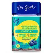 Vitamina d blueberry 30 gomas - Dr Good