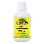 Nature's Blend L-Carnitina Líquida 1000 mg Limão-Lima - 473 ml (16 fl oz)