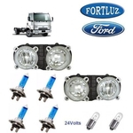 Farol Ford Cargo 712 2010 Origi Fortluz Kit c 2 SB