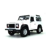 Miniatura Land Rover Defender 1/24 Branco