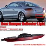 Farol de nevoeiro traseiro do refletor do pára-choque traseiro para Audi tt tts ttrs 2007-2015 8J0945703