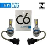 Super Led H11 12V Audi A5 2012 Farol de Milha Par