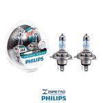 Lâmpadas Farol Nissan Stanza Philips H4 Xtremevision