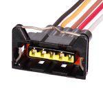 Chicote Plug Conector 05 Vias Farol Bifocal Vw Gol Saveiro Gti Tsi