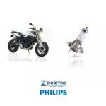Par Lâmpadas Philips Xtreme Vision H7 Bmw 800r Farol Alto E Baixo