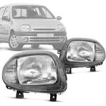 Par Farol Renault Clio 99 00 01 02 Foco Simples