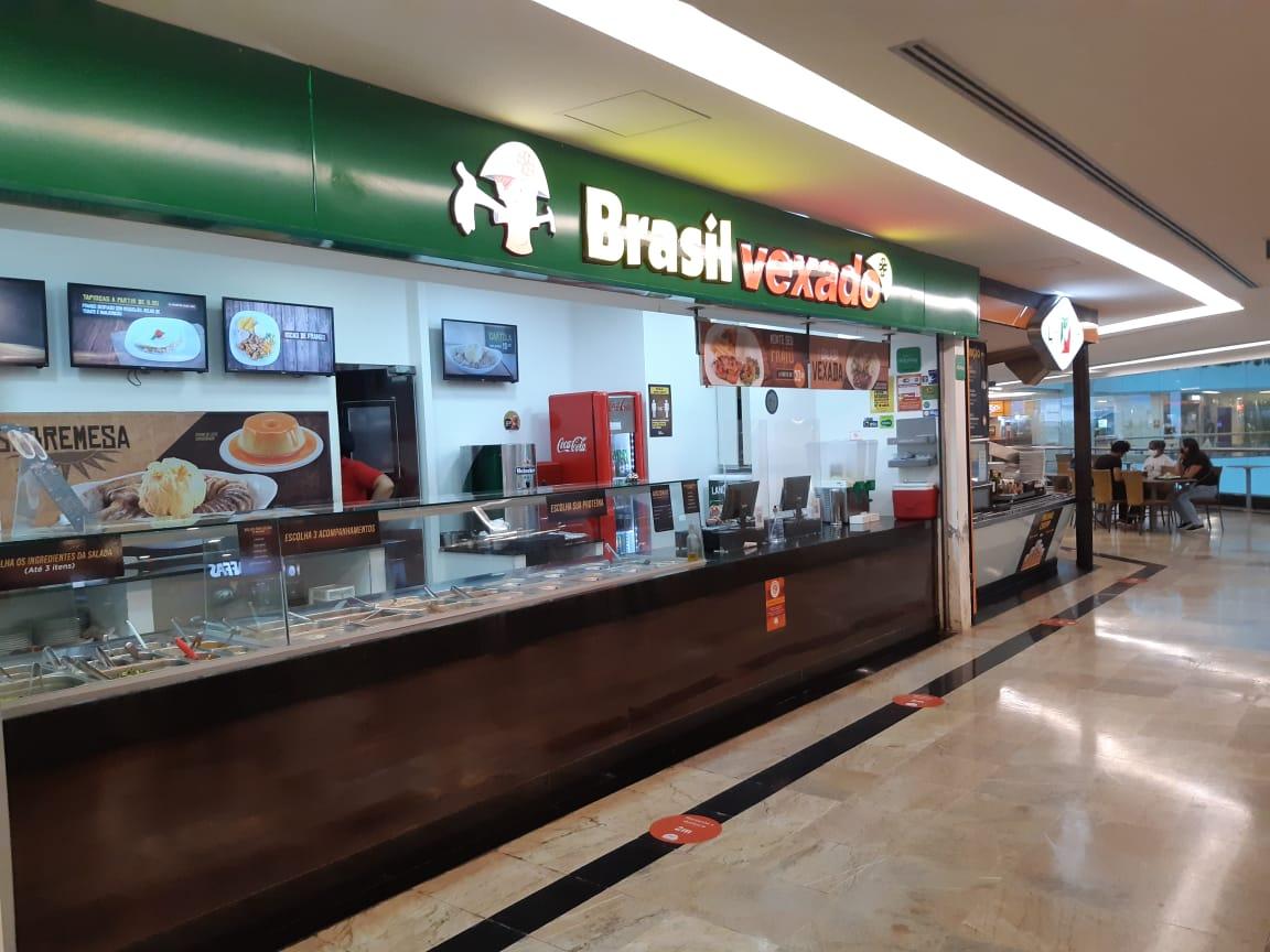 Brasil Vexado do Pátio Brasil Shopping, Comércio Brasilia