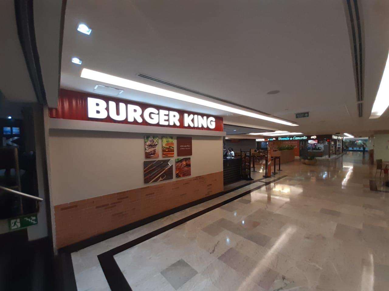Burger King do Pátio Brasil Shopping, Comércio Brasilia