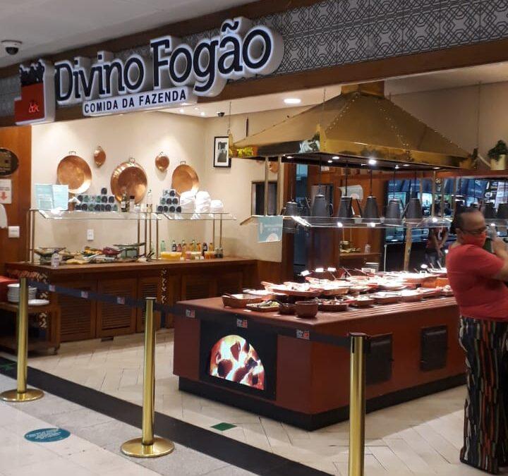 Divino Fogão Shopping Conjunto Nacional, 2 Piso, Comercio Brasilia