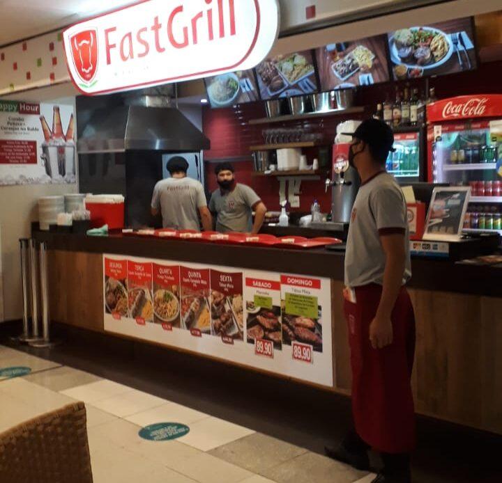 Fast Grill Shopping Conjunto Nacional, 2 Piso, Comercio Brasilia