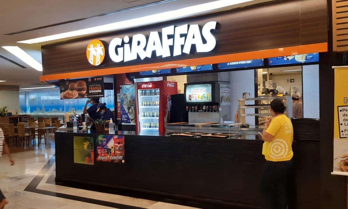 Giraffas Pátio Brasil Shopping, Comércio Brasilia