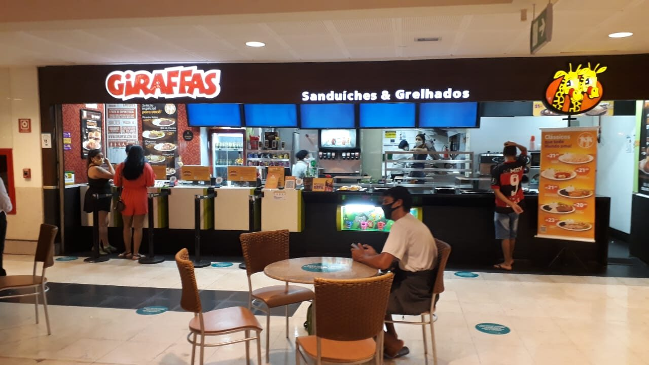 Giraffas Shopping Conjunto Nacional, 2 Piso, Comercio Brasilia