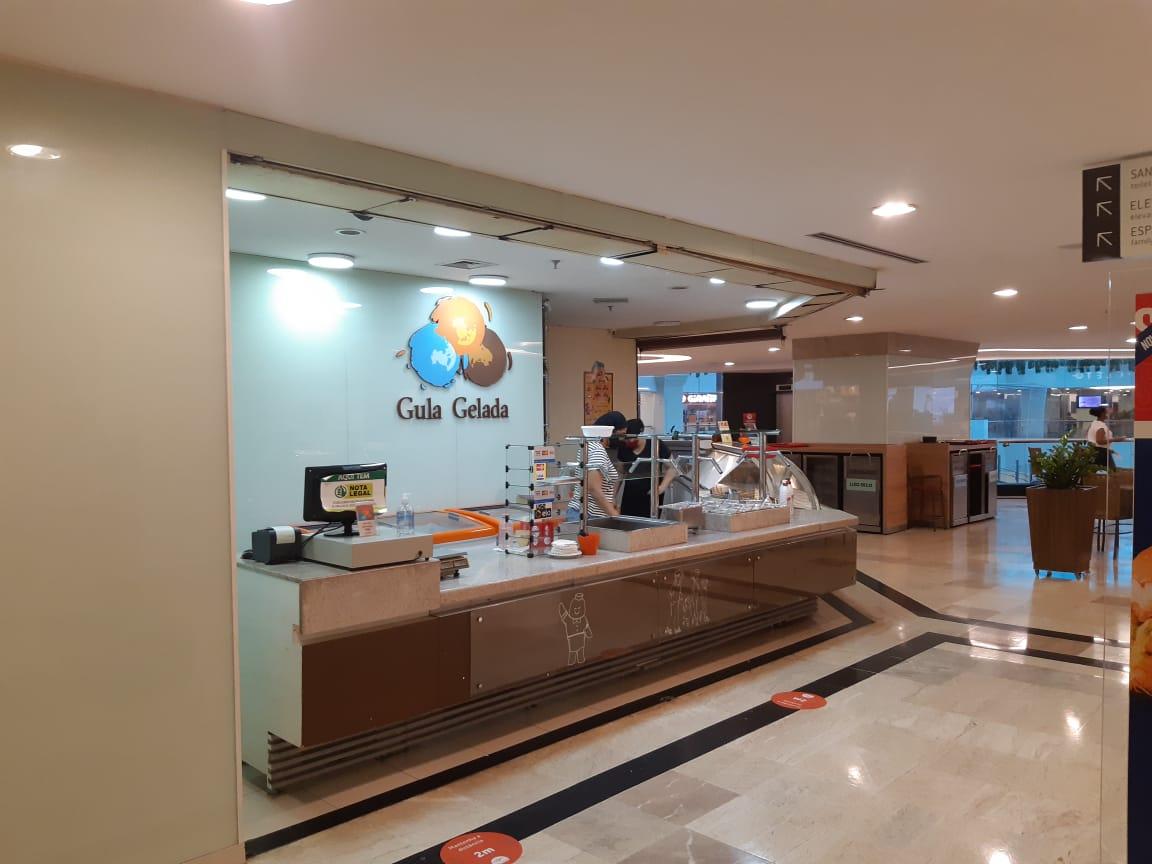 Gula Gelada do Pátio Brasil Shopping, Comércio Brasilia