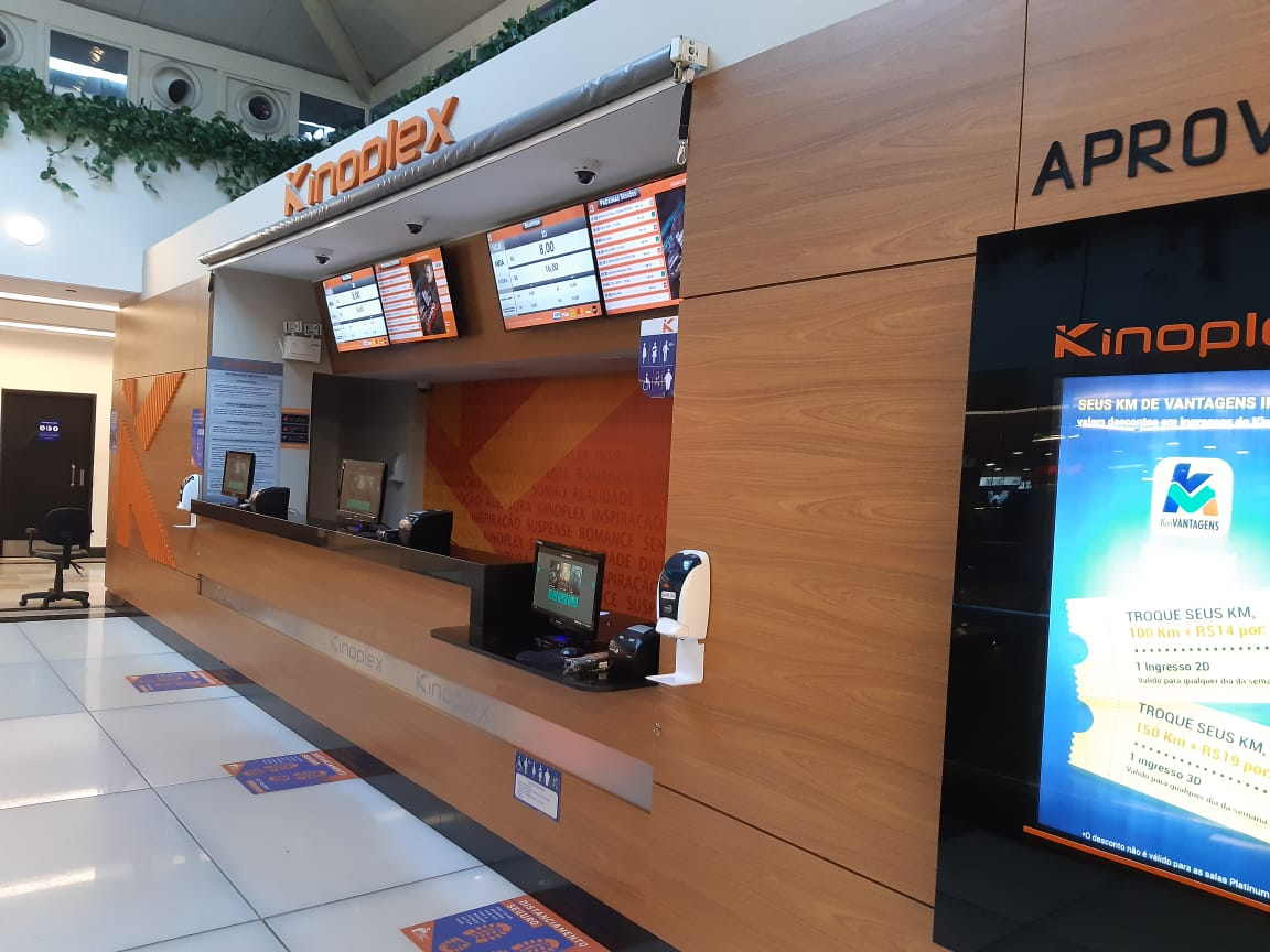 Kinoplex do Pátio Brasil Shopping, Comércio Brasilia