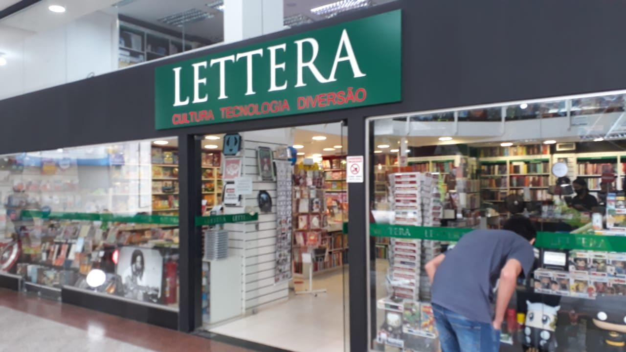 Lettera Cultura, Tecnologia e Diversão Águas Claras Shopping, 1 Piso, Av. das Araucárias, Comércio Brasília