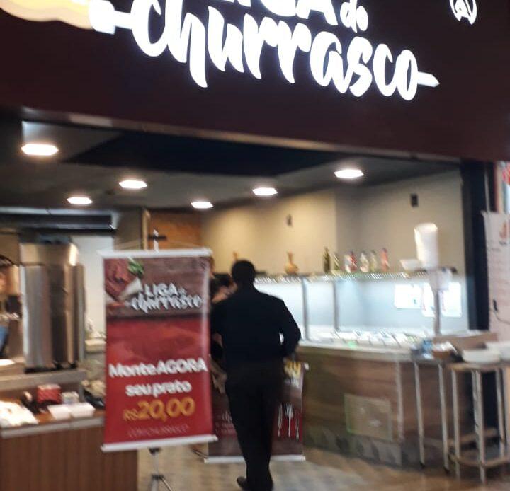 Liga do Churrasco Águas Claras Shopping, 1 Piso, Av. das Araucárias, Comércio Brasília