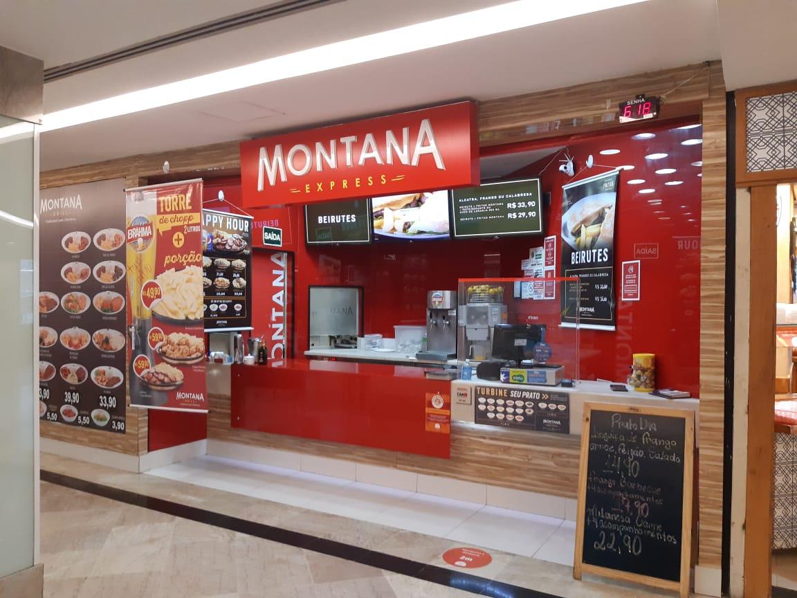 Montana Express do Pátio Brasil Shopping, Comércio Brasilia