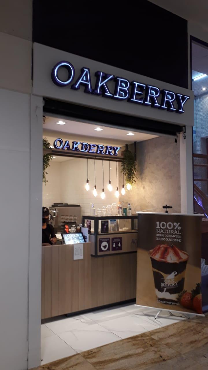 Oakberry Águas Claras Shopping, 1 Piso, Av. das Araucárias, Comércio Brasília