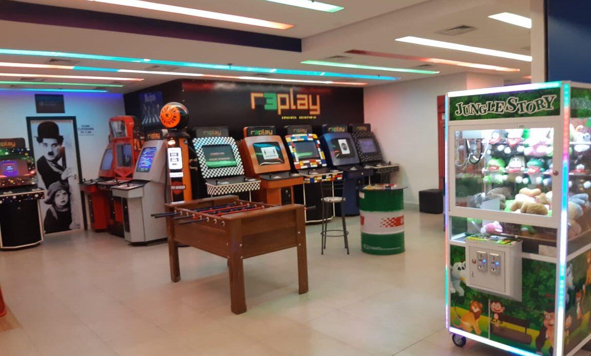 Replay Games do Pátio Brasil Shopping, Comércio Brasilia