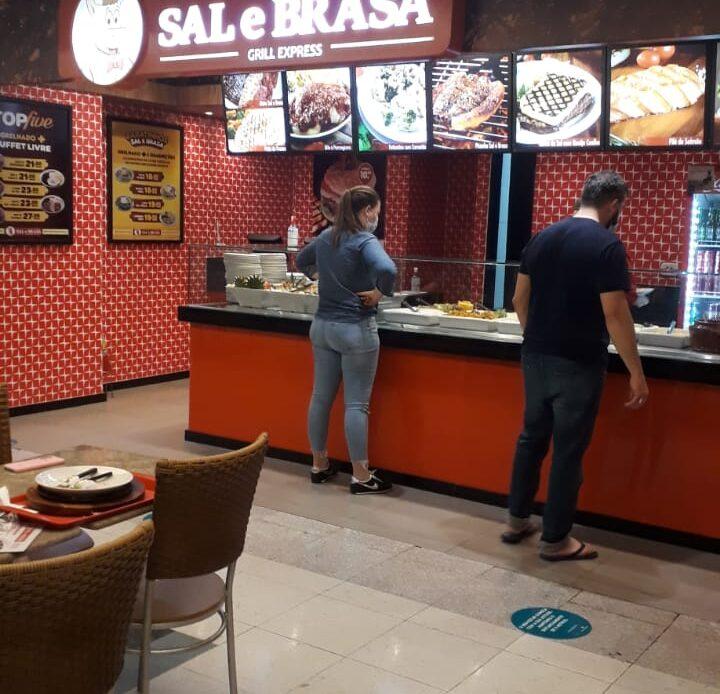 Sal e Brasa Grill Express Shopping Conjunto Nacional, 2 Piso, Comercio Brasilia