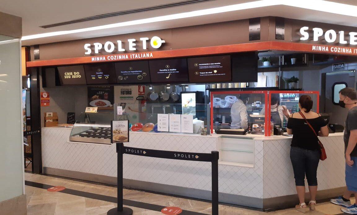Spoleto do Pátio Brasil Shopping, Comércio Brasilia