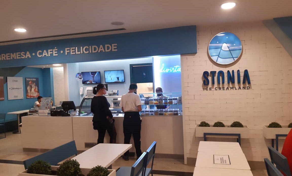Stonia Sorveteria do Pátio Brasil Shopping, Comércio Brasilia